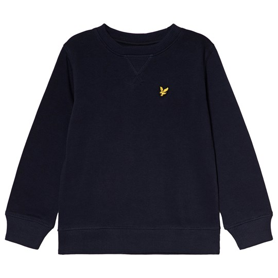 Lyle & Scott Navy Classic Crew Neck Sweatshirt Color Description