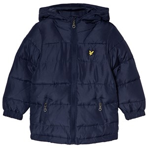 Image of Lyle & Scott Navy Down Puffer Jacket 12-13 years (1157070)