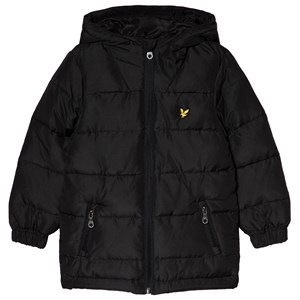 Image of Lyle & Scott Black Down Puffer Jacket 3-4 years (3056092891)