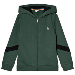Paul Smith Junior Forest Green Zebra Badge Hoodie 3 years