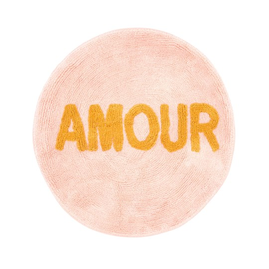 Rice Tufted Round Floor Rug Amour