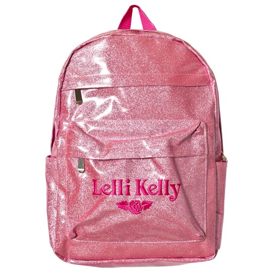 Lelli Kelly Pink Glitter Backpack Pink