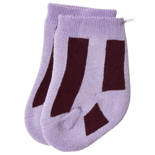 The Animals Observatory Skunk Socks Purple Purple