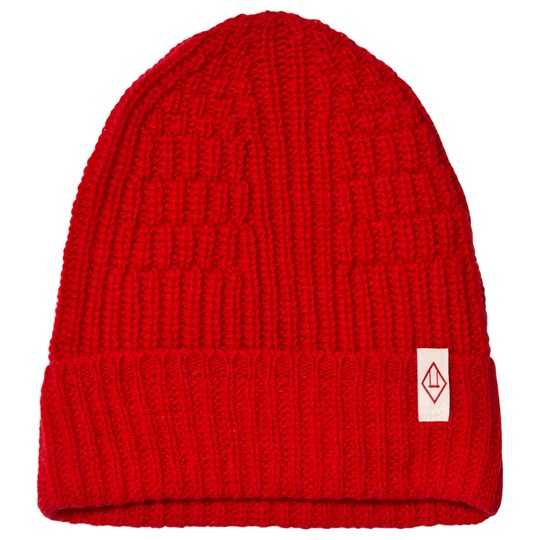 The Animals Observatory Pony Knit Beanie Red Apple Red Apple