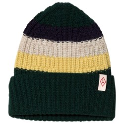 The Animals Observatory Pony Knit Beanie Deep Green
