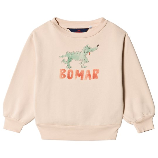 The Animals Observatory Bear Kids Sweatshirt Rose Green Bomar Rose Green Bomar