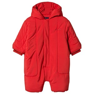 Image of The Animals Observatory Bumblebee Baby Coverall Red Apple Red Tao 12 mdr (3056065857)