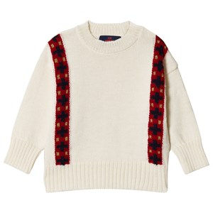Image of The Animals Observatory Bands Bull Sweater Raw White 10 år (3056066011)