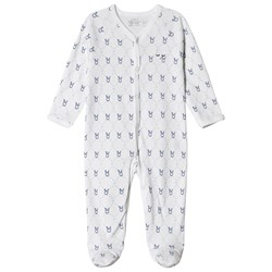 Livly Simplicity Footed Baby Body Blue Diamond Bunny