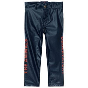 Image of The Animals Observatory Crow Pants Navy Blue Red The Animals 4 år (3056065781)
