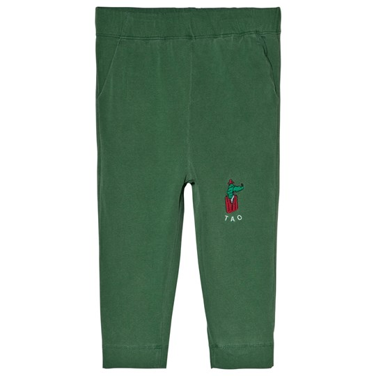 The Animals Observatory Rhino Pants Green White Bomar Green White Bomar