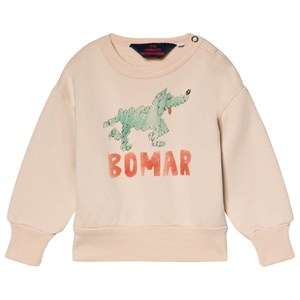 Image of The Animals Observatory Bear Baby Sweatshirt Rose Green Bomar 6 mdr (3056065237)