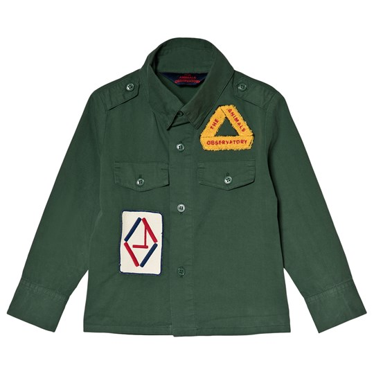 The Animals Observatory Twill Coyote Shirt Green Green