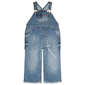 Image of The Animals Observatory Miner Overalls Indigo White The Animals 2 år (3056065673)