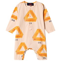 The Animals Observatory Meerkat One-Piece Rose Triangles