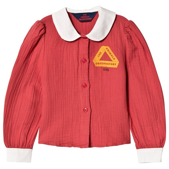 The Animals Observatory Kangaroo Shirt Red Triangle Red Triangle
