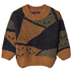 The Animals Observatory Arty Bull Sweater Deep Brown