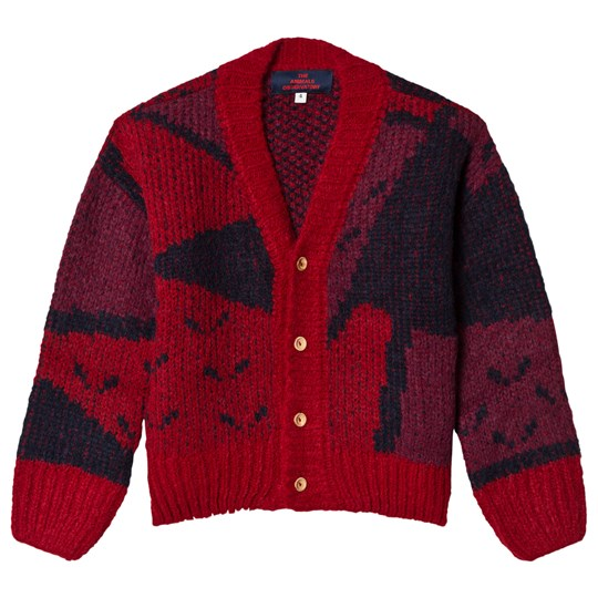 d4844e75f5f The Animals Observatory - Arty Peasant Cardigan Red Apple - Babyshop.com