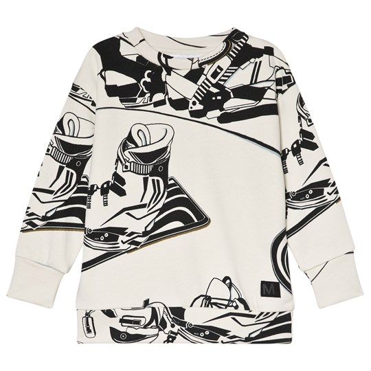 Molo Madsim Sweatshirt Snowboarders Outline Snowboarders outline