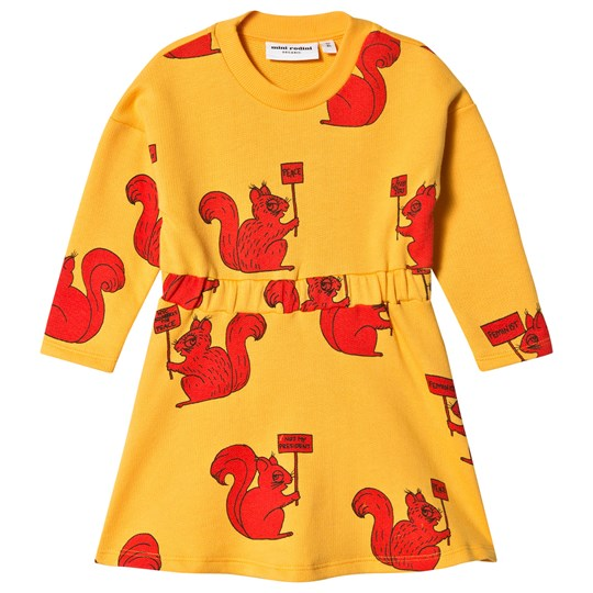 Rodini Rodini Yellow Dress Dress Mini Squirrel Rodini Mini Squirrel Mini Yellow qg4aZa
