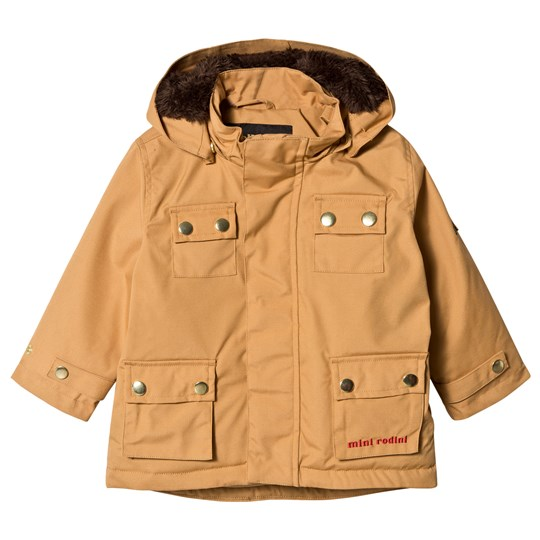 Mini Rodini Duck Parkas Brun BROWN