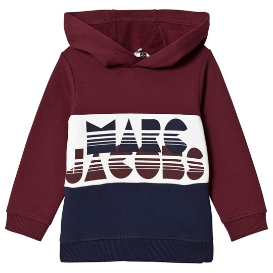 Little Marc Jacobs Color Block Hoodie Red Navy White 95A