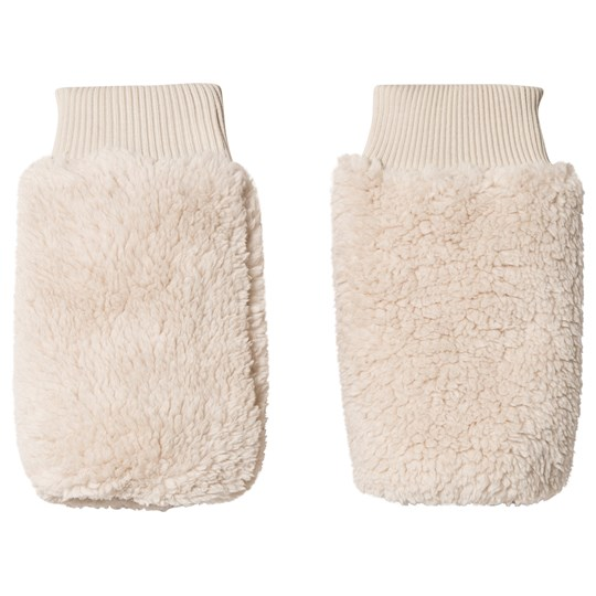 Tinycottons Fluffy Leg Warmers Beige Beige