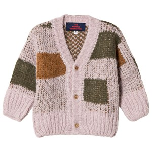 Image of The Animals Observatory Arty Peasant Baby Cardigan Purple 6 mdr (3056065923)