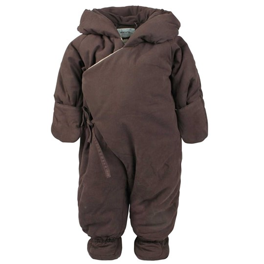 Mini A Ture Fianna Snowsuit Dark Coffee BROWN