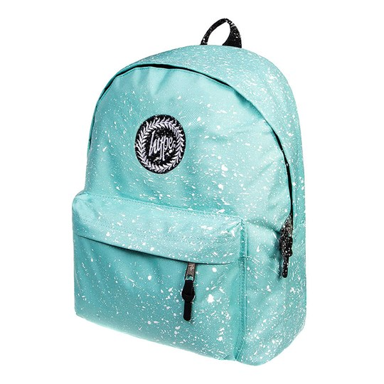 Hype Mint and White Speckled Backpack Mint