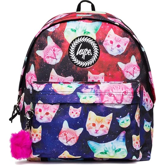 Hype Multicolor Cosmo Pom Pom Backpack Multi