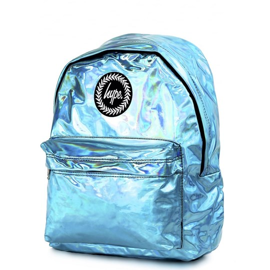 Hype Aqua Holographic Backpack Aqua