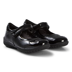Image of Geox Black Patent and Leather Heart Mary Jane sko 26 (UK 8.5) (3056087335)