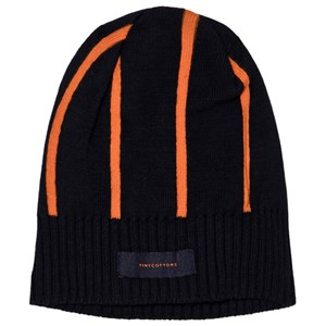 Image of Tinycottons Stripes Beanie Navy/Red One Size (1172273)