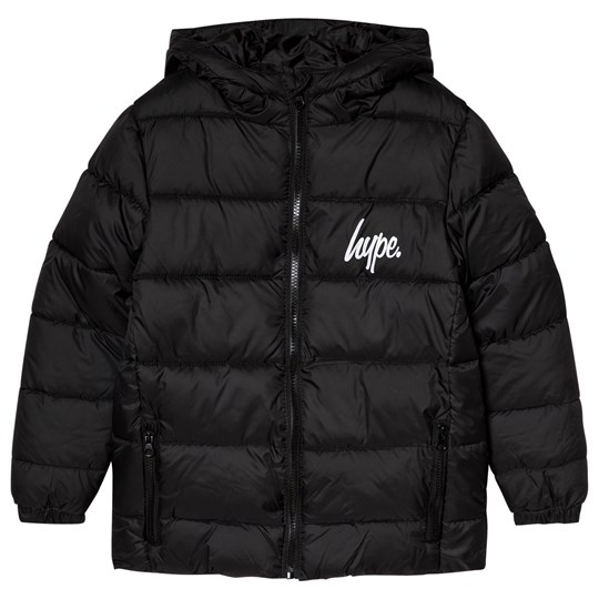 Hype Puffa Jacket Black Black