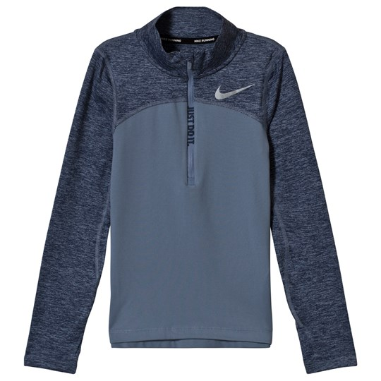 NIKE Dry Element Running Top Grey 445