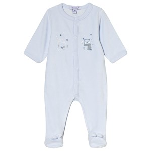Image of Absorba Bear Footed Baby Body Pale Blue 1 month (3056071011)