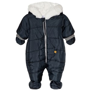 Image of Absorba Hooded Coverall Navy 1 month (3056071369)
