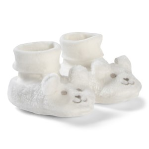 Image of Absorba Bear Booties Cream 6-9 months (3056071499)