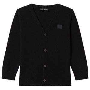 Image of Acne Studios Neve Cardigan Black 8-10 år (3056083797)