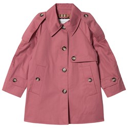 Burberry Rose Pink Danica Trench Coat
