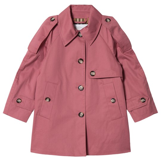 Burberry Rose Pink Danica Trench Coat Rose Pink