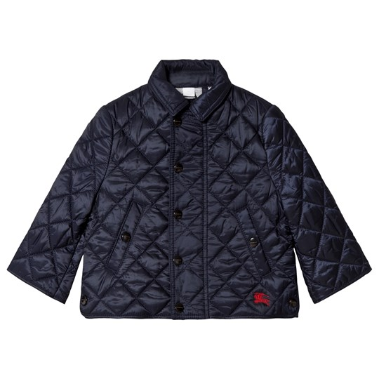 Burberry Navy Mini Lyle Quilted Jacket INK