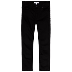 Burberry Black Skinny Jeans with Branded Back
