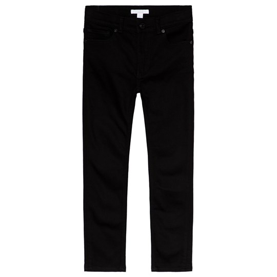 Burberry Black Skinny Jeans with Branded Back Black