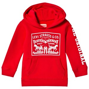 Image of Levis Kids Authentic Logo Print Hoody Red 5 years (3056079037)