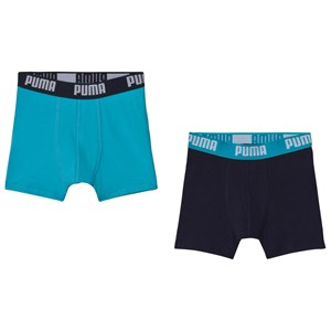 Image of Puma Basic Boxer 2P Bright Blue 122/128 cm (3056107601)