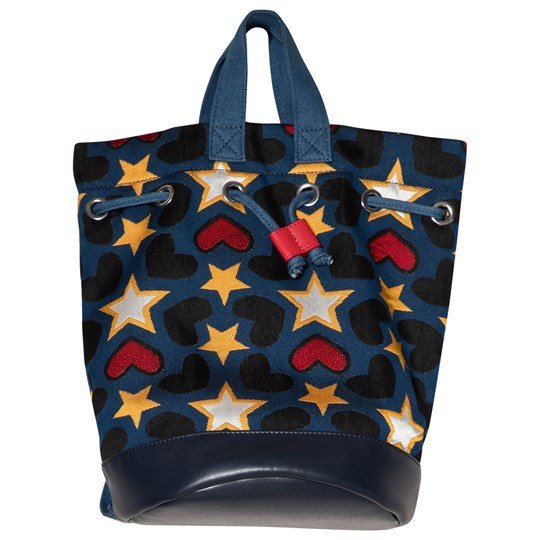 Stella McCartney Kids Star Bag Blue 4961 - Tapestry Pr