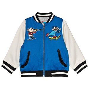 Image of Stella McCartney Kids andy Reversible Bomber Jacket Blue 10 years (3056080219)
