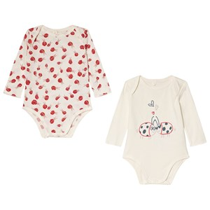 Image of Stella McCartney Kids Baby Body Set Binky/Binky Lady Bird 12 months (3056080257)
